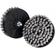 "Standard 4"" Ultra Soft Upholstery Brush for Dual Action Polisher (Grey)"